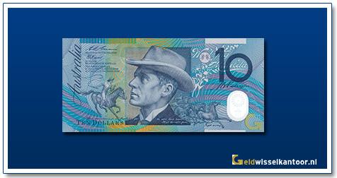Australische Dollar-10-dollar-a-b-banjo-paterson-1993-Geldwisselkantoor