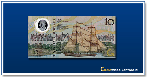Australische Dollar-10-dollar-captain-james-cook-1988-Geldwisselkantoor