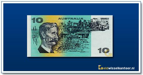 Australische Dollar-10-dollar-francis-greenway-1974-91-Geldwisselkantoor
