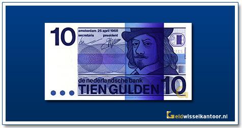 Nederland 10 Gulden 1968 Frans Hals 1968