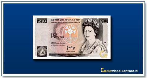 Engelse Ponden-10-pounds-1975-1992-queen-elizabeth-II-groot-brittanie