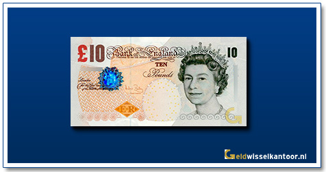 Engelse Ponden-10-pounds-2000-queen-elizabeth-II-groot-brittanie