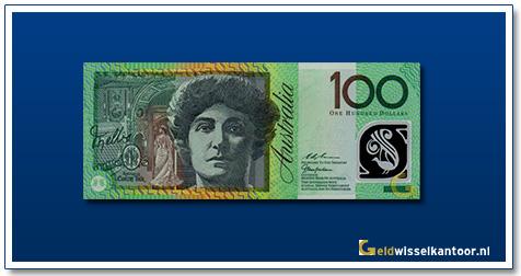 Australische Dollar-100-dollar-dame-nellie-melba-1996-2001-Geldwisselkantoor
