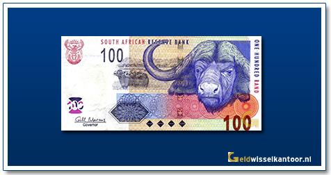 geldwisselkantoor-100-rand-cape-buffalo-2005-zuid-afrika