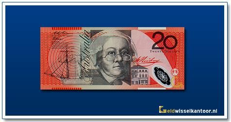 Australische Dollar-20-dollar-mary-reiby-1994-Geldwisselkantoor