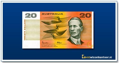 Australische Dollar-20-dollar-sir-charles-kingsford-smith-1974-1994-Geldwisselkantoor