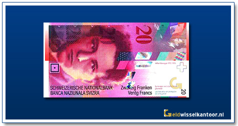 geldwisselkantoor-20-franken-Arthur-Honegger-Zwitserland-1994-2008