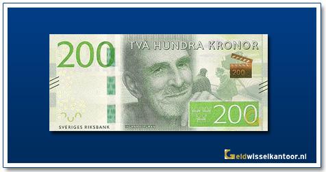 geldwisselkantoor-200-kronor-Ingmar-Bergman-2015-zweden