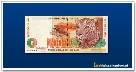 geldwisselkantoor-200-rand-Leopard-1994-zuid-afrika