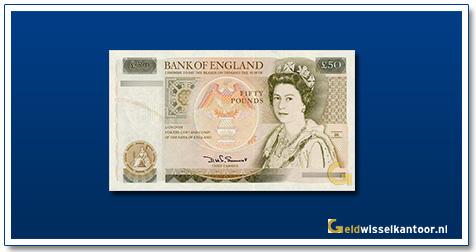 Engelse Ponden-50-pounds-1981-1993-queen-elizabeth-II-groot-brittanie