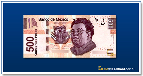 geldwisselkantoor-500-pesos-diego-rivera-2010-mexico