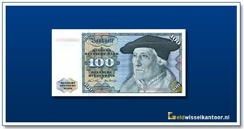 Geldwisselkantoor-100-mark-Master-Sebastian-Munster-Duitsland-1970-80