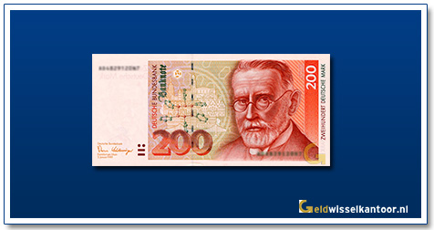 Geldwisselkantoor-200-Mark-Paul-Ehrlich-Duitsland-1989