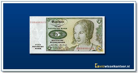 Geldwisselkantoor-5-Mark-Venetian-Woman-Duitsland-1970-80