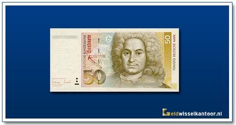 Geldwisselkantoor-50-mark-Balthasar-Neuman-Duitsland-1989-93-96