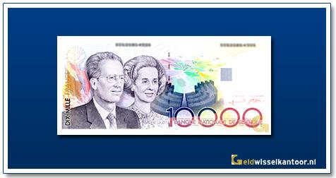 Geldwisselklantoor-10000-Francs-Koning-Baudouin-I-en-Koningin-Fabiola-Belgie-1992-97