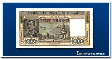 geldwisselkantoor-100-franks-leopold-I-1945-belgie
