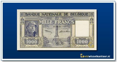 geldwisselkantoor-1000-franks-Albert-I-Helmet-belgie