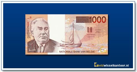 geldwisselkantoor-1000-franks-Constant-Permeke-1997-belgie