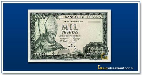 geldwisselkantoor-1000-pesetas-Gustavo-Adolfo-Becquer-1965-spanje