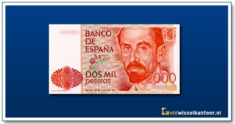 geldwisselkantoor-2000-Pesetas-Juan-Ramon-Jimenez-Spanje-1980