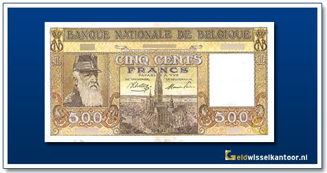 geldwisselkantoor-500-francs-leopold-II-1944-1947-Belgie