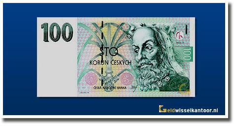 Tsjechische Kronen Inwisselen Tjechie