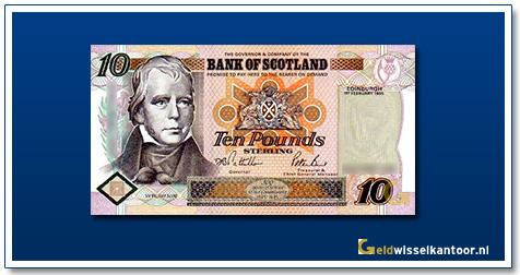 Geldwisselkantoor-10-Pounds-Sir-W-Scott-Schotland-1995-2006