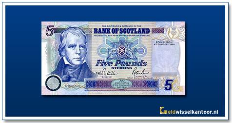 Geldwisselkantoor-5-Pounds-Sir-W-Scott-Schotland-1995-2008