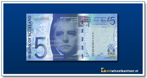 Geldwisselkantoor-5-Pounds-Sir-W-Scott-Schotland-2007