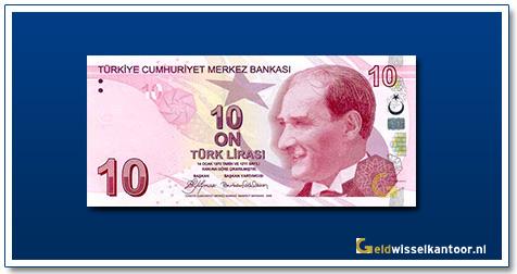 geldwisselkantoor-10-Lira-President-Ata-Turk-Turkije-2009