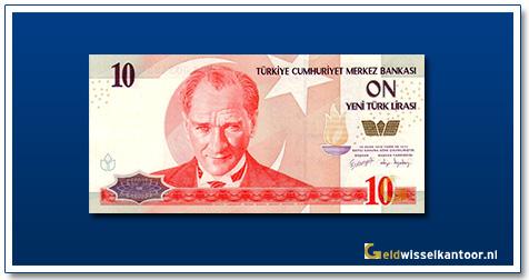 geldwisselkantoor-10-Lira-President-Kamel-Ata-Turk-Turkije-2005