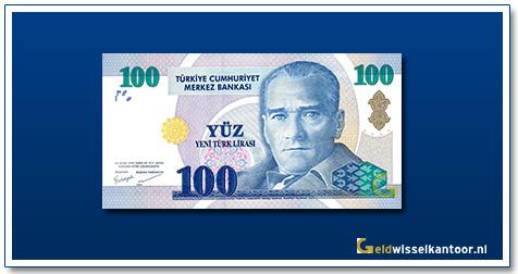 geldwisselkantoor-100-Lira-President-Kamel-Ata-Turk-Turkije-2005