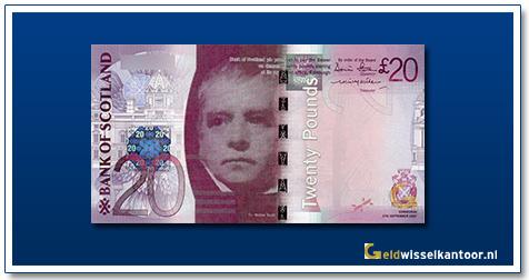 geldwisselkantoor-20-Pounds-sir-walter-scott-2007-Scotland