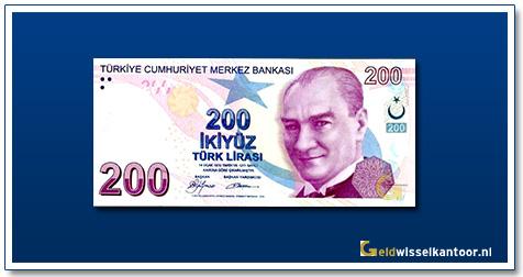 geldwisselkantoor-200-Lira-President-Ata-Turk-Turkije-2009