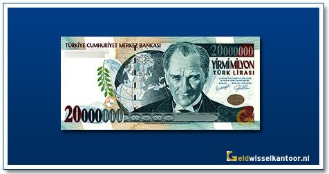 geldwisselkantoor-200oooooo-lira-President-Kamel-Ataturk-1995-2002-Turkije