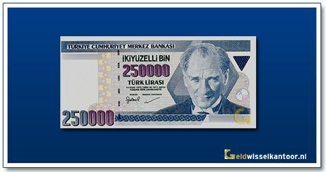 geldwisselkantoor-250ooo-lira-President-Kamel-Ataturk-1998-2002-Turkije