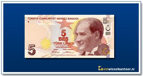 geldwisselkantoor-5-Lira-President-Ata-Turk-Turkije-2009
