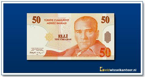 geldwisselkantoor-50-Lira-President-Kamel-Ata-Turk-Turkije-2005