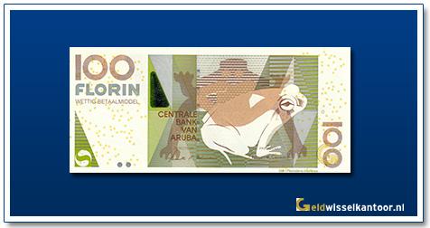 Arubaanse Florin-100-florin-Dori-Frog-2003-heden-Aruba