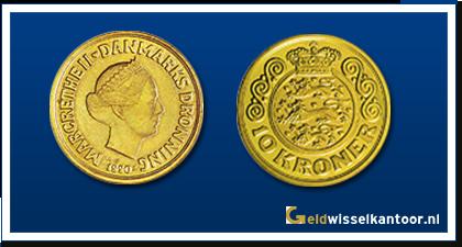 Geldwisselkantoor-Deense Kronen-10-Kroner-1990-1993-zweden