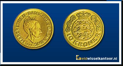 Geldwisselkantoor-Deense Kronen-10-Kroner-1994-1999-zweden