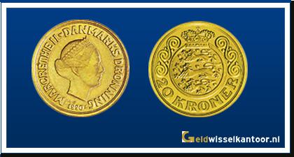 Geldwisselkantoor-Deense Kronen-20-Kroner-1990-1993-zweden