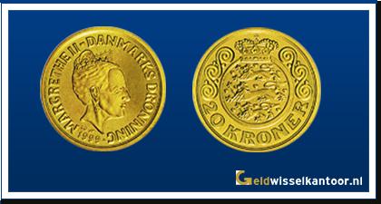 Geldwisselkantoor-Deense Kronen-20-Kroner-1994-1999-zweden