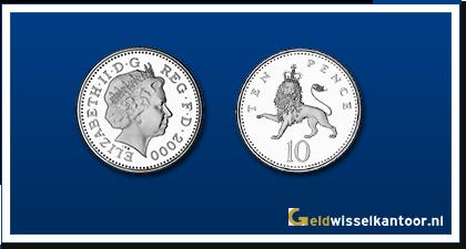 Geldwisselkantoor-munten-10-pence-1992-heden-Engeland