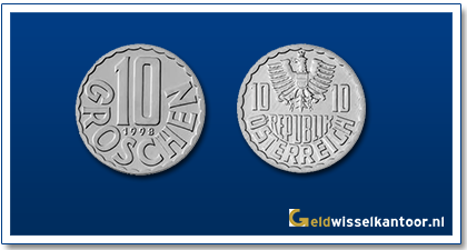 geldwisselkantoor-10-Groschen-1951-heden-oostenrijk