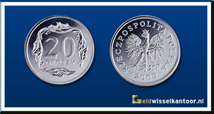 geldwisselkantoor-Poolse-Zloty-20-Groszy-2001-heden-Polen