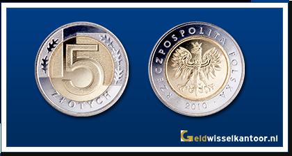 geldwisselkantoor-Poolse-Zloty-5-Zloty-2008-heden-Polen