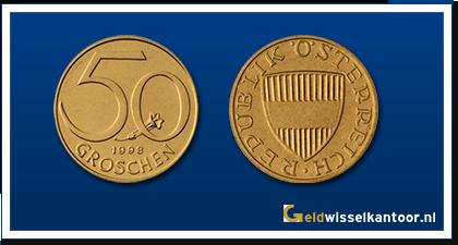 geldwisselkantoor-50-Groschen-1959-heden-oostenrijk