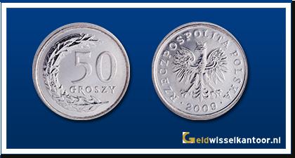 geldwisselkantoor-Poolse-Zloty-50-Groszy-2008-heden-Polen